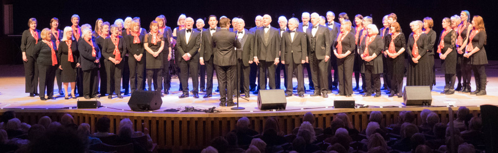 Mersey Wave choir at the Liverpool Philharmonic Hall January 2016
