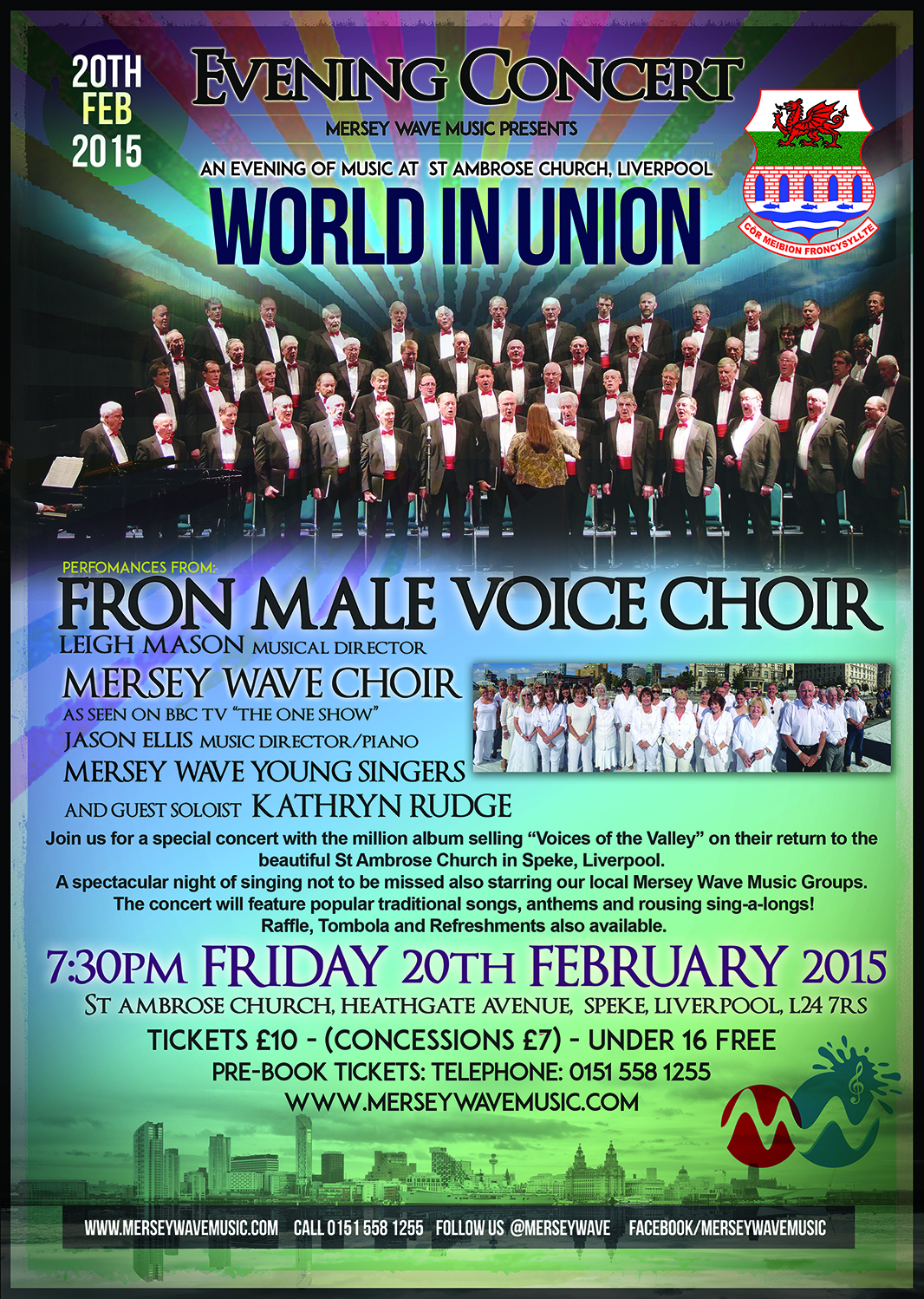 fron male voice choir mersey wave