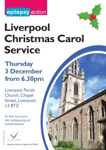 LIVERPOOL CAROL SERVICE POSTER