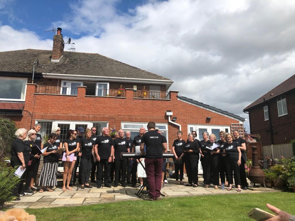 Mersey Wave Choir National Garden Scheme Liverpool